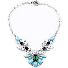 Wiipu Elegant Light Crystal Pendant Women Necklaces Pendant Necklace(c440) * See this great product.