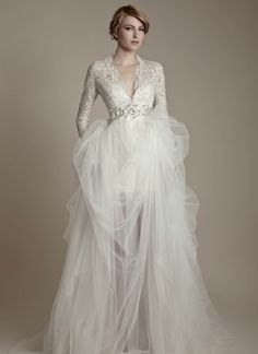 Ersa Atelier - Collection Preview 2013 Russian Fairy Tale #wedding #dress