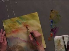 Painting Outside The Lines : A Positive Approach To Negative Painting - Part Two - YouTube
