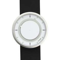 Montre Hygge Series 3012 Blanc, Bracelet Cuir
