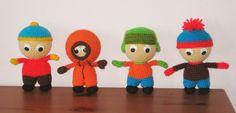 mario characters amigurumi patterns  | South Park Characters Amigurumi ~ Free Download Pattern