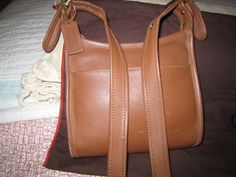 Auth COACH Shoulder bag/Crossover bag nice soft leather by moodsoflife. Explore more products on http://moodsoflife.etsy.com
