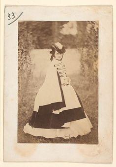 Pierre-Louis Pierson (French, 1822–1913). La robe d'été, 1860s. The Metropolitan Museum of Art, New York. David Hunter McAlpin Fund, 1975 (1975.548.33)