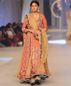 474dd4db3be36 Anarkali Bridal Dresses 2013 by Asifa and Nabeel at Pantene Bridal Couture  Week Sacramento CA USA