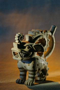 Huaca Dos Cabezas-Jecetepeque; Moche; Burials; Crested Beast