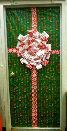 Deurversiering School Door Decorations Christmas Decoration Noel Trees