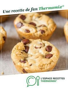 Mookies by A fan recipe to find in the Sweet pastries category on www.espace-recett …, of Thermomix®. Desserts With Biscuits, Mini Desserts, Chocolate Desserts, Chocolate Muffins, Dessert Thermomix, Cake Recipes, Dessert Recipes, Cake Factory, Crack Crackers