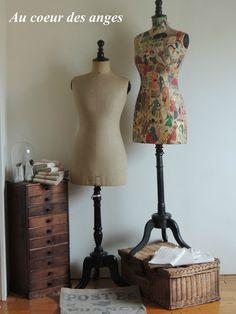 buste de couture mannequin de poup e de mode stockman epoque 1900 mannequin couture. Black Bedroom Furniture Sets. Home Design Ideas