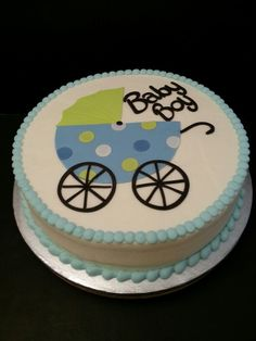 baby carriage cake  baby carriage cake, carriage cake and baby, Baby shower invitation