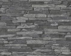 AS Creation Wood `n Stone 9142-24 Leisteen behang