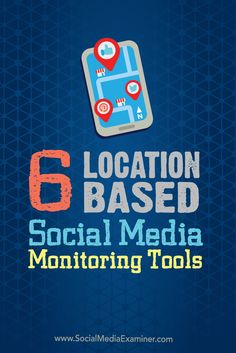 Do you want to reach local customers on social media?  Geo-specific social media monitoring tools help businesses engage with customers who are close to their brick and mortar stores.  In this article we'll share six location-based monitoring tools to use for local social media marketing. Via @smexaminer.