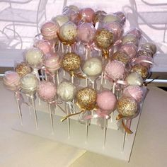 Cake Pops: Wedding Cake Pops made to order with high quality ingredients, 1 . - Party - quality Cake Pops: Wedding Cake Pops made to order with high quality ingredients, 1 . Alina Re alinarestle Partyplanung Cak Sweet 16 Birthday, 16th Birthday, Birthday Parties, 16 Birthday Ideas, Birthday Gifts, Birthday Cake, Wedding Cake Pops, Wedding Cakes, Wedding Favors