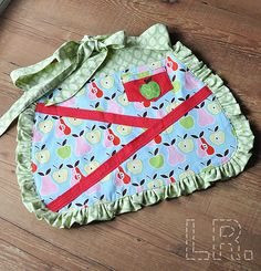 Summer Sewing :: Craft Apron | LRstitched :: a journal of stitches