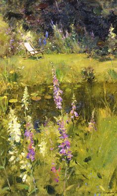 David Curtis - pond and garden gibdyke