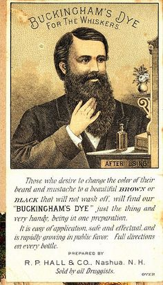 Buckinghams Dye for the Whiskers. See: http://www.pinterest.com/pin/287386019945326857/