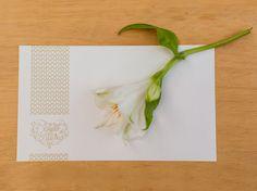 Casamento Dani e Walter: Cartão para mensagem dos noivos (golden, rustic, wedding, lace, chic, romantic)