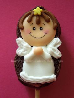 Mini bubulubu decorado para baby shower