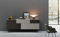 Hängeschrank Incontro 202 -  Möbel / Hängeschrank -  Aus der Serie Incontro bietet San Giacomo aus Italien, passend zu den Side- und Highboards - auch diesen Hängeschrank an. Damit können Sie einer einheitlichen, modernen Linie in Ihrer Raumausstattung treu blieben. Dieses exklusive Designmöbel lässt keine Wohnwünsche offen, denn es gewährt wie alle anderen Modelle aus der...