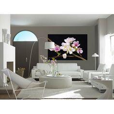 Filigrane Blüten Schlängeln Sich Der Wand Empor   Tapeten Von Lucia  Grandeco | Natürlich, Modern Und Elegant   Tapeten Grandeco Lucia |  Pinterest | Tapeten, ...