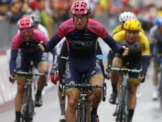 Sacha Modolo takes stage 13 but, again, all the action was behind him