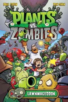 Young adventurers Patrice Blazing and Nate Timely fend off a 'fun-dead' neighborhood invasion in Plants vs. Zombies: Lawnmageddon!