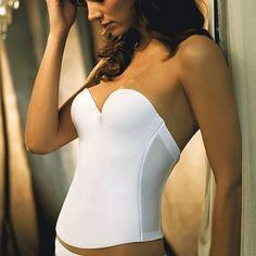 6c563d46fa3b1 Essentials Seamless Hidden Wire Bustier by Felina Wedding Dress  Undergarments