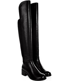 Streamlined yet statement-making, theses over-the-knee boots from Marc by Marc Jacobs amp up your winter-ready style #Stylebop