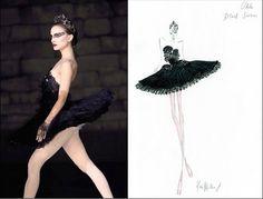 Natalie Portman - Black Swan http://www.vogue.fr/thevoguelist/rodarte/213