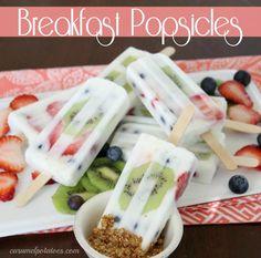 Breakfast Popsicles