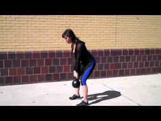 Master RKC Andrea Du Cane Demonstrates the Kettlebell Deadlift Row