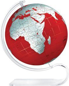 360° & 24. red globe