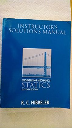 Download complete solutions manual statics and mechanics of hibbeler statics 11th edition solutions grizzlybook pdf fandeluxe Image collections