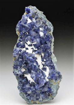 Benitoite - Dallas Gem Mine, San Benito Co., California