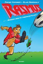 Rasmus #1: Verdens bedste fodboldspiller? er en super begynderbog om fodbold.