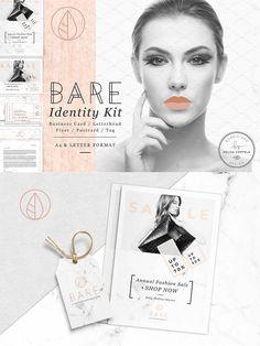 Bare Fashion Stationery Kit