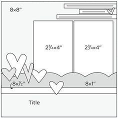 Scrapbook Page Sketch 339