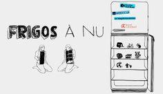 Frigo à nu : montre moi ton frigo...et je te dirai qui tu es ! Saveurs du net - Eat, drink and geek : www.saveursdunet.com