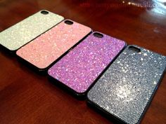 Glitter iPhone covers