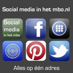 Alle tips, voorbeelden, tools, handleidingen, presentaties, posters, tweets en meer van Social media in het mbo zijn vanaf nu te bereiken vanaf http://socialmediainhetmbo.nl/
