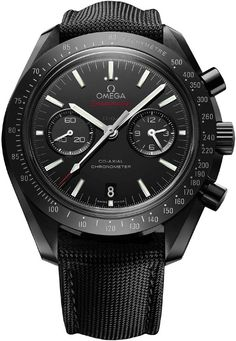 DARK SIDE OF THE MOON Omega Speedmaster Co-Axial Chronograph Mens Watch