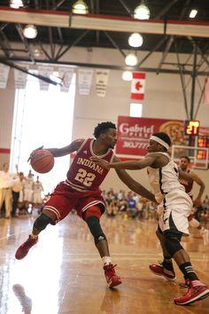 Stan at Indiana vs carleton -- #IUCollegeBasketball