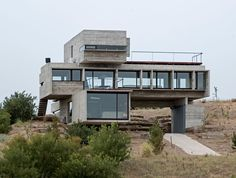 Casa Golf From Concrete Planes by Luciano Kruk