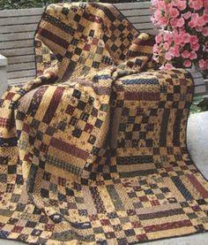 primitive gatherings.  primitive picnic quilt.  very nice