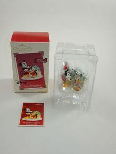 Hallmark 2003 Disney Christmas Ornament - Home Bright Home Mickey & Pluto w/Box