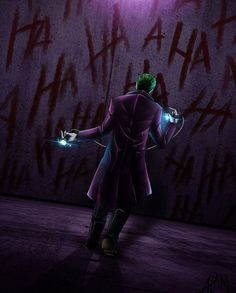 """I'm gonna hurt you really, really bad."" - Deviant Artist ""Alanasdasd"". Some more Joker. Just because. - Ander"