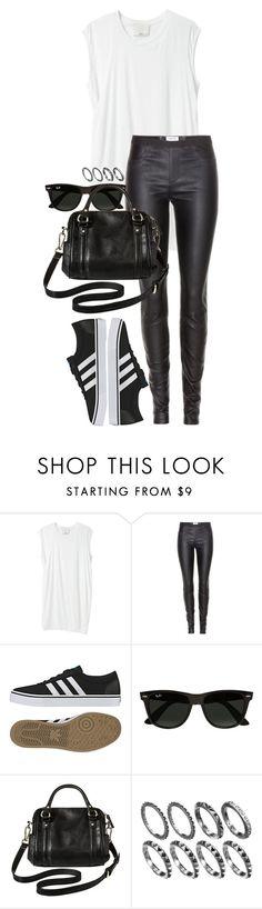 Wet Look Leggings, 3.1 Phillip Lim, Helmut Lang, Adidas Originals, Ray Bans, Shoe Bag, Polyvore, Collection, Shopping