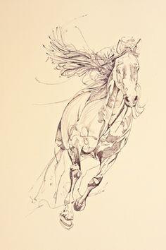 "Saatchi Online Artist Yaheya Pasha; Drawing, ""Matrix"" #art"