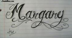 Diseño/Plantilla tatuaje Nombres