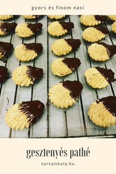 Gesztenyés pathé…. nagyon nagyon nagyon finom – Tortaiskola Torte Cake, Sweet Cookies, Cookie Jars, Cakes And More, Cake Art, Matilda, Nutella, Muffin, Food And Drink