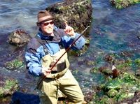Learn the basics of intertidal hunting and gathering on this unique eco-tour in Half Moon Bay! Expert fisherman, sea forager and intertidal guru Kirk Lombard shows you how to dig up clams, identify types of edible seaweeds, catch eels, pick mussels and much more. www.partner.viator.com/en/11907/tours/San-Francisco/Low-Tide-Fishing-Eco-Tour-in-Half-Moon-Bay/d651-5845MEGA